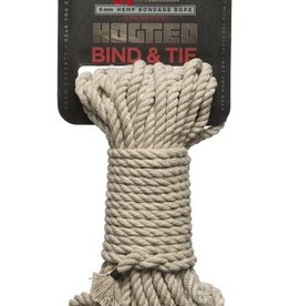 Doc Johnson's Kink Bind & Tie Hemp Bondage Rope - 50 Ft