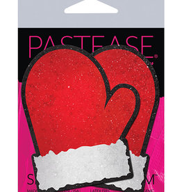 Pastease Pastease Santa Mittens - Red/White O/S