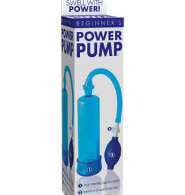 Pipedream Beginners Power Pump - Blue