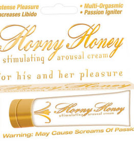 HOTT PRODUCTS Horny Honey Arousal Cream 1 Oz Tube