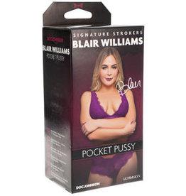 Doc Johnson Signature Strokers - Blair Williams - Ultraskyn Pocket Pussy
