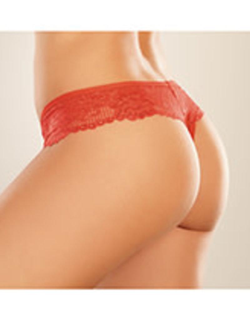 Allure Lingerie Adore Chiqui Love Red O/S