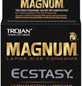 Trojan Condoms Trojan Magnum Ecstasy - 3 Pack
