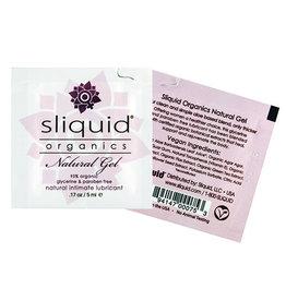 Sliquid Sliquid Organics Natural Lubricating Gel - .17 oz Pillow
