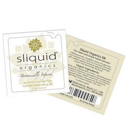 Sliquid Sliquid Organics Silk Lubricant - .17 oz Pillow
