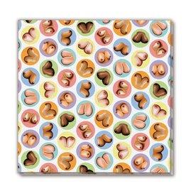 Little Genie Mini Boobs Napkins 8 Pack