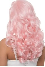 "Leg Avenue 20"" Bombshell Long Curly Wig - Pink"