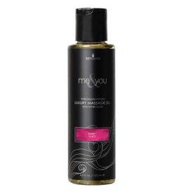 SENSUVA Me and You Luxury Massage Oil - Berry Flirt - 4.2 Fl. Oz