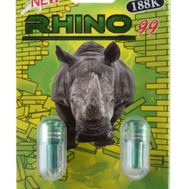 Herbal Supplements Rhino 99 Extreme 188K Double Pack