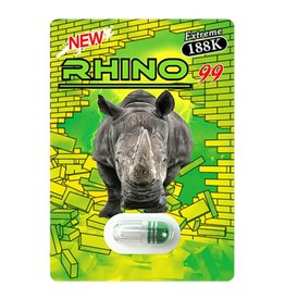 Herbal Supplements Rhino 99 Extreme 188K - Single pack