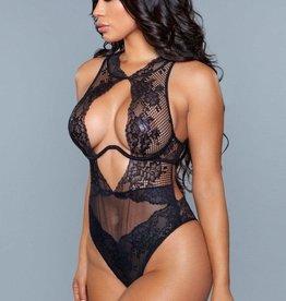 Be Wicked Davina Bodysuit - Black