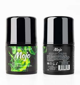 Intimate Earth MOJO Niacin and Ginseng Penis Stimulating Gel Lubricant 1oz