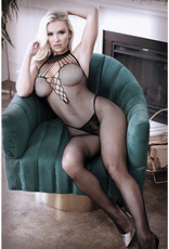 Fantasy Lingerie Adore You Fishnet Bodystocking - One Size