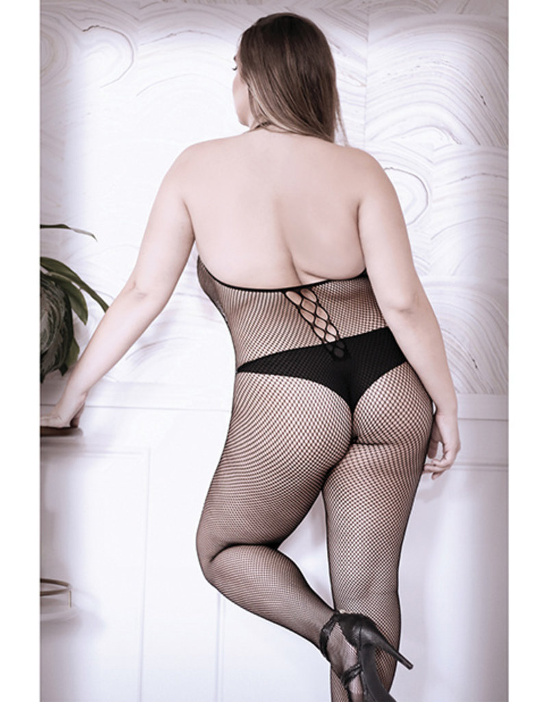 Fantasy Lingerie Adore You Fishnet Bodystocking - Queen Size