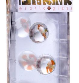 XR Brands Prisms Asvani Glass Ben Wa Balls