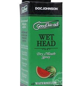 Doc Johnson GoodHead Wet Head Dry Mouth Spray Watermelon 2oz