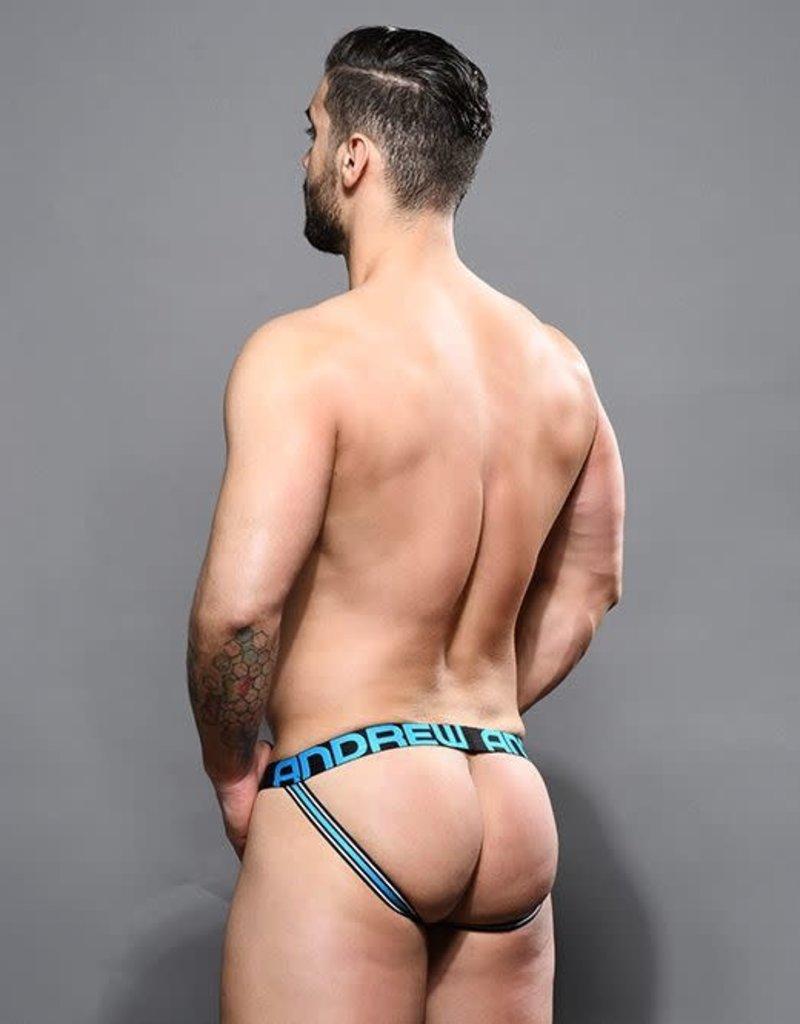 Andrew Christian Almost Naked Bamboo Jock - Aqua