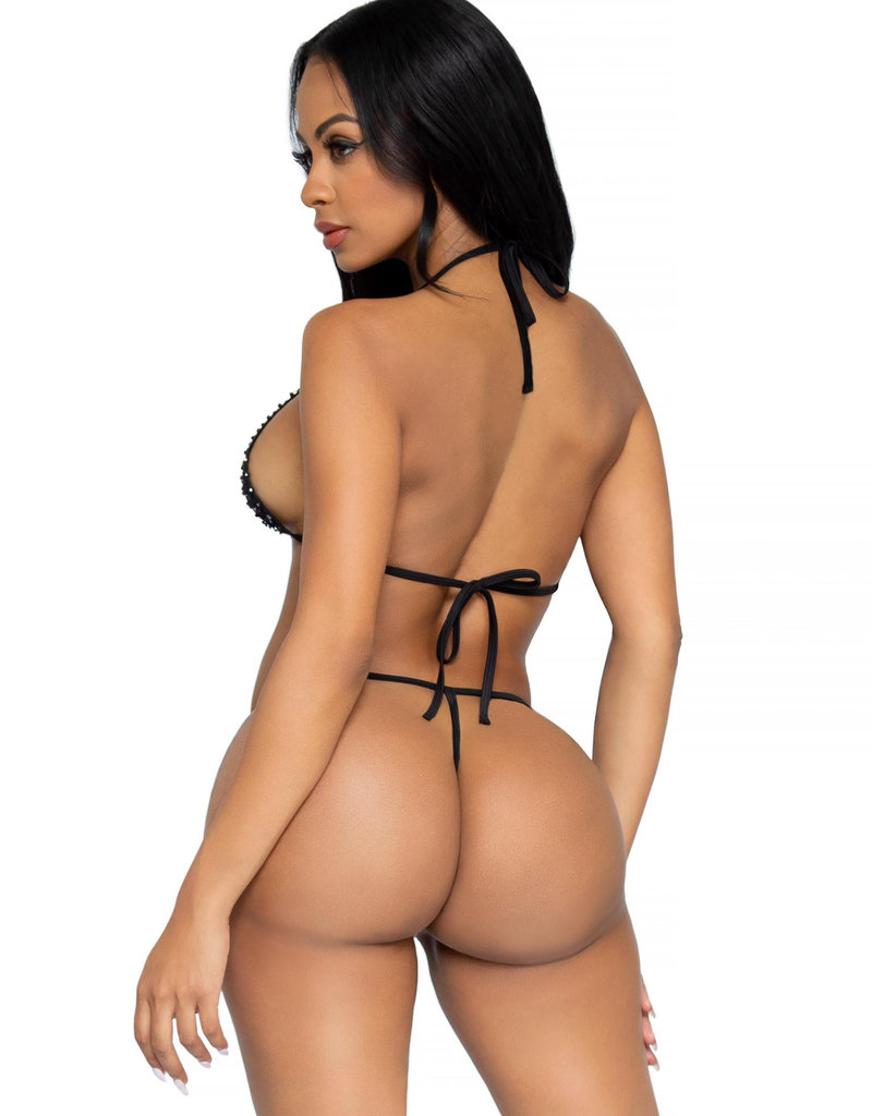 Leg Avenue 2 pc Tempest Bikini Set - OS