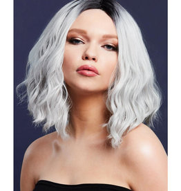 FEVER LINGERIE Fever Cara Wig - Two Toned Blend - Ice Silver