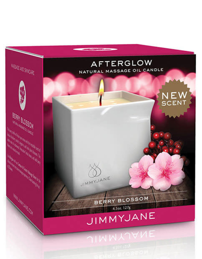 JimmyJane Afterglow Natural Massage Oil Candle