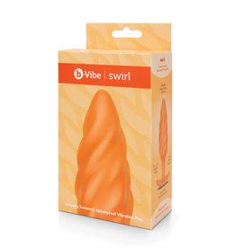 B-Vibe B-Vibe Texture Plug Swirl Orange (Medium)