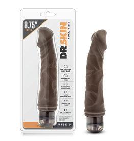 Blush Novelties Dr. Skin Vibe 6 - Chocolate
