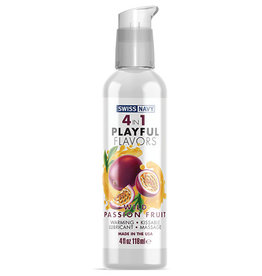 Swiss Navy Swiss Navy 4 in 1 Playful Flavors Wild Passion Fruit - 4 oz