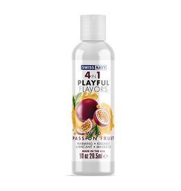 Swiss Navy Swiss Navy 4 in 1 Playful Flavors Wild Passion Fruit - 1 oz