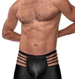 Male Power Matte Black Cage Short