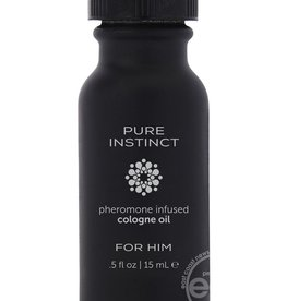 Classic Brands Pure Instinct Pheromone Infused Cologne For Him .5 Ounce Bottle