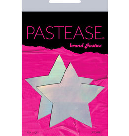Pastease Pastease Hologram Star - Silver O/S