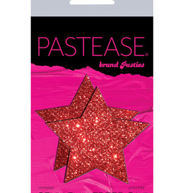 Pastease Pastease Glitter Star - Red O/S