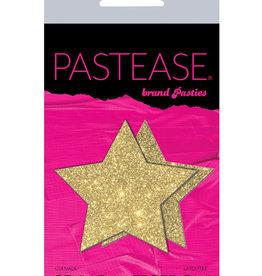 Pastease Pastease Glitter Star - Gold O/S