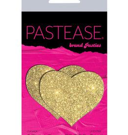 Pastease Pastease Glitter Heart - Gold O/S