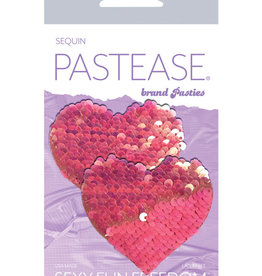 Pastease Pastease Color Changing Flip Sequins Heart - Pink O/S