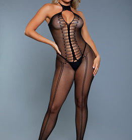 Be Wicked Make You Melt Bodystocking - Queen Size