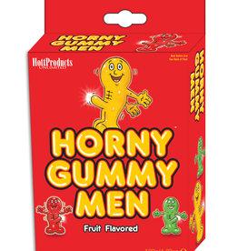 HOTT PRODUCTS Horny Gummy Men Fruit Flavored Gummy Men 4.23 Ounce Box