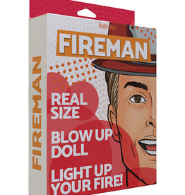 HOTT PRODUCTS Inflatable Party Doll - Fireman