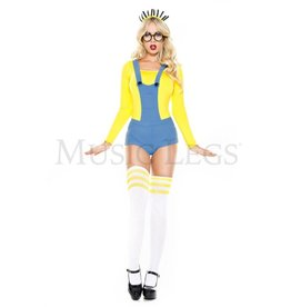 Music Legs Despicable Human 4 PC Costume