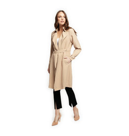 Dex TRENCH COAT W/SELF BELT