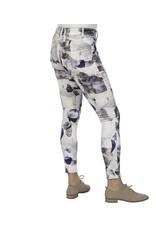 lola Alexa High Rise Skinny Printed Jeans