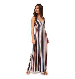 Dex SLV/LESS V-NECK MAXI DRESS