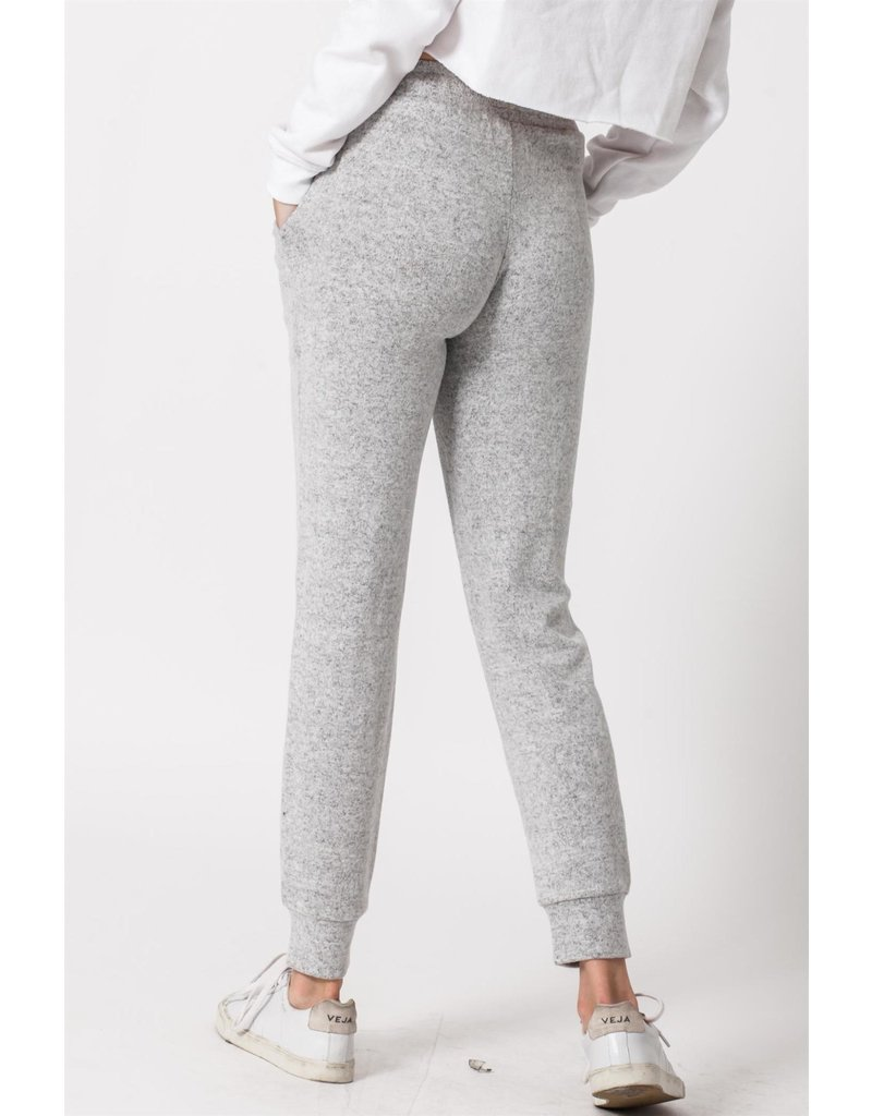 Spotted Gecko Brushed Hacci Jogger Pant