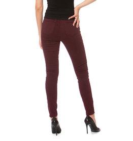 lola Alexa High Rise Skinny Jeans Wine