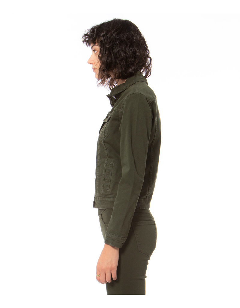 lola Gabriella Forest Jean Jacket