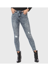 lola Mid Rise Ankle Jean Blair Distressed FA19