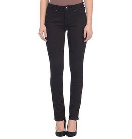 lola Kristine Mid Rise BLACK Straight Jean