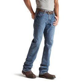 ARIAT® ARIAT WORK PANTS - M4 LOW RISE BOOT JEAN FLINT
