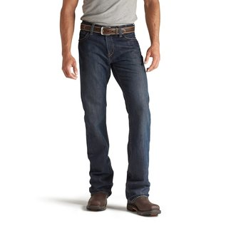 ARIAT® ARIAT WORK PANTS - M4 LOW RISE BOOT JEAN SHALE