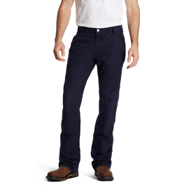 ARIAT® ARIAT WORK PANTS - M4 LOW RISE WORKHORSE BOOT CUT PANT NAVY